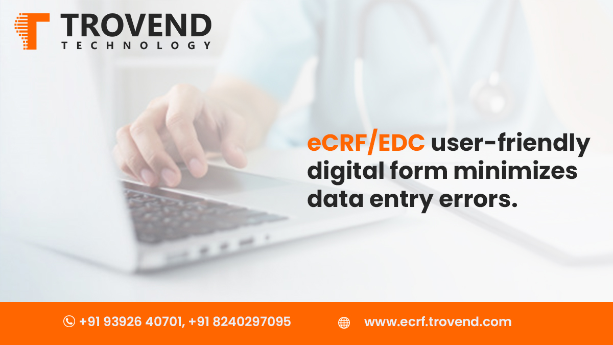 Data Processing for Clinical Trials made easy with EDC/ eCRF