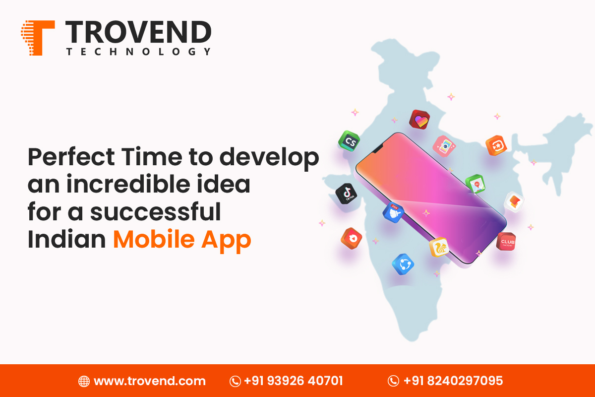 Perfect Time to develop an incredible idea for a successful mobile app
